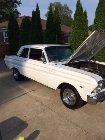 1964 ford falcon 2 door 260 v8 manual for sale in metro detroit mi. Black Bedroom Furniture Sets. Home Design Ideas