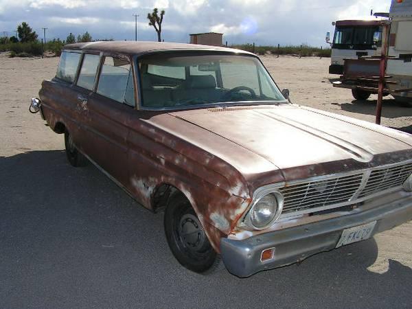 1965 Ford Falcon 2DR Wagon V6 Auto For Sale in High Desert, CA