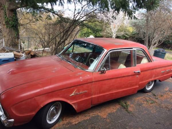 1961 Ford Falcon 2DR Coupe V6 Manual For Sale in Ashland, OR