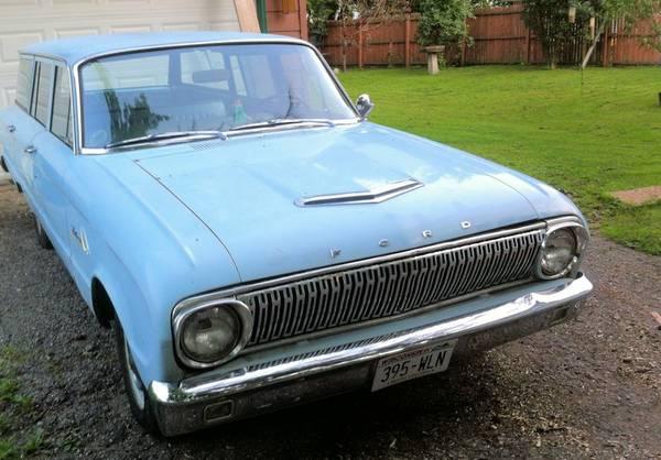 1962 Ford Falcon Wagon 140 ci manual For Sale in ...