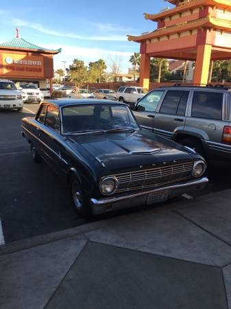 1963 ford falcon 2dr coupe v6 auto for sale in las vegas nv. Black Bedroom Furniture Sets. Home Design Ideas