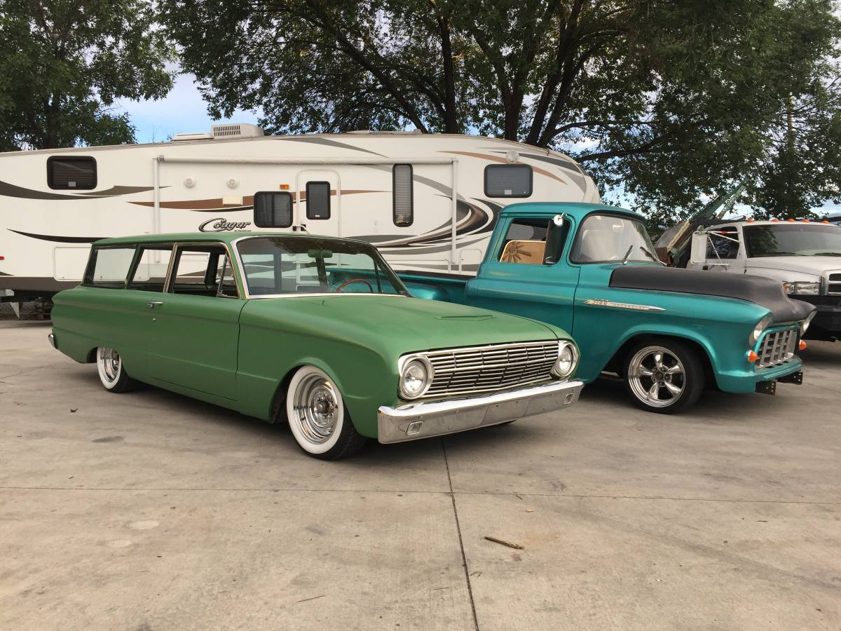 1963 Ford Falcon Hot Rod Bagged Wagon For Sale In Colorado Springs