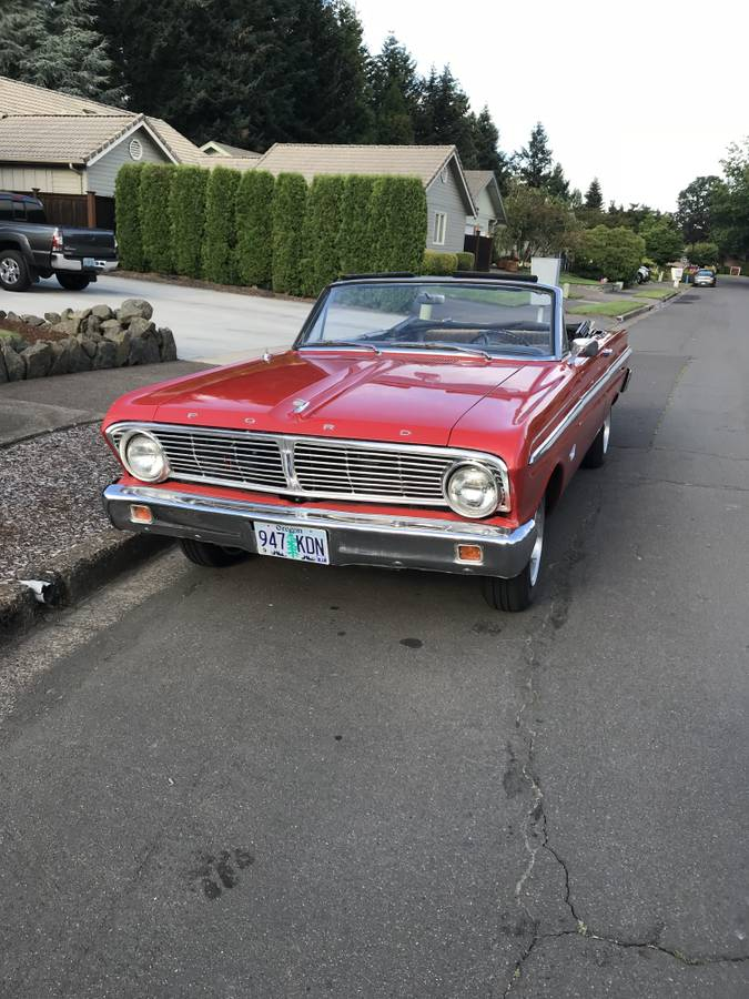 1965 Ford Falcon 2DR Convertible 6cyl Auto For Sale in ...