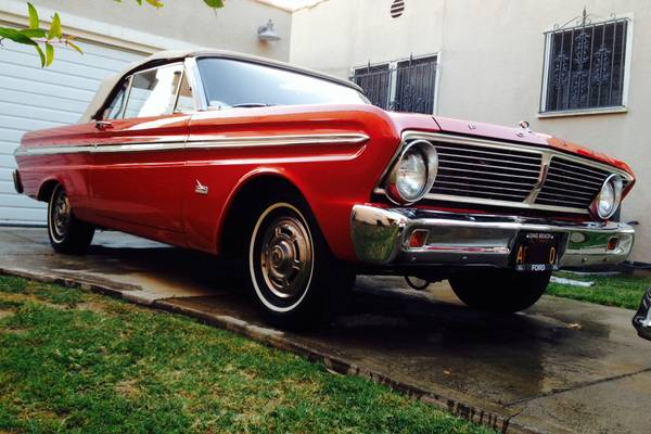 1965 Ford Falcon 2DR Convertible V6 Auto For Sale in ...