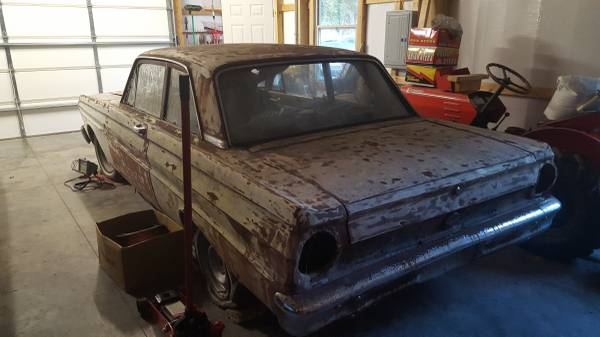 1965 Ford Falcon 2 Door V6 3spd Manual For Sale in White ...