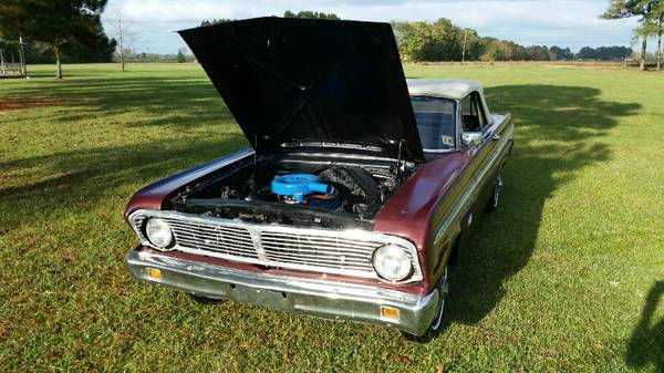 1965 Ford Falcon Convertable V6 Auto For Sale in Eastern NC