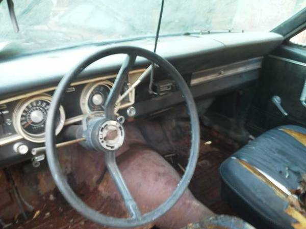 1966 ford falcon 2dr coupe 289 for sale in chatsworth  ga