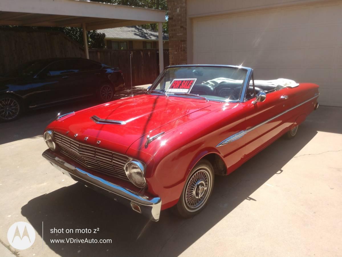 1963 Ford Falcon Convertible For Sale in Wichita Falls, TX